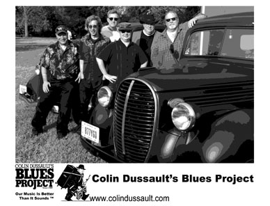 Colin Dussault Blues Project