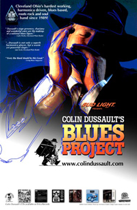 Colin Dussault Promo Band Poster